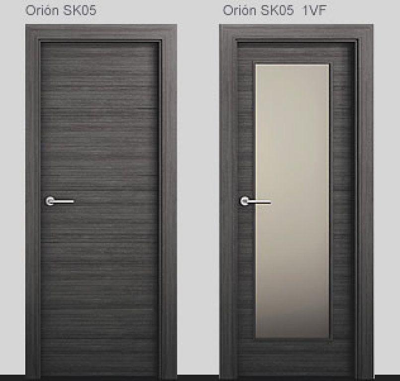 Puertas modernas para interiores great puertas de madera for Puertas italianas interior
