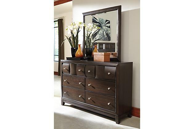 The Dark Brown Chanella Dresser Furniture Ashley Furniture Home Design Decor Dark brown chest of drawers