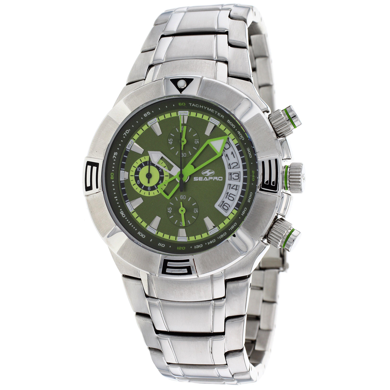 ed8df4fb2d1 Seapro Men s TX Diver Chronograph Watch