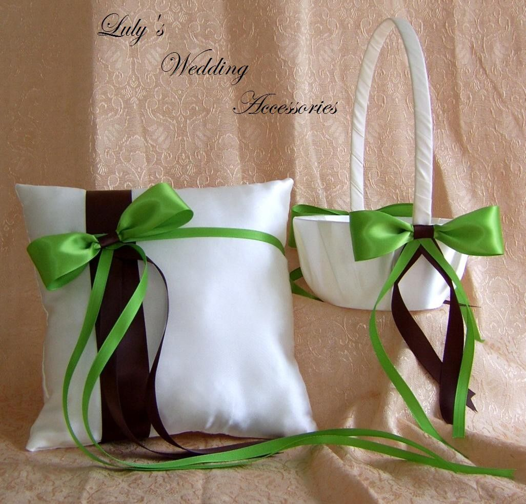 Image Detail For Chocolate Brown And Kiwi Lemongr Or Lime Green Wedding Colors
