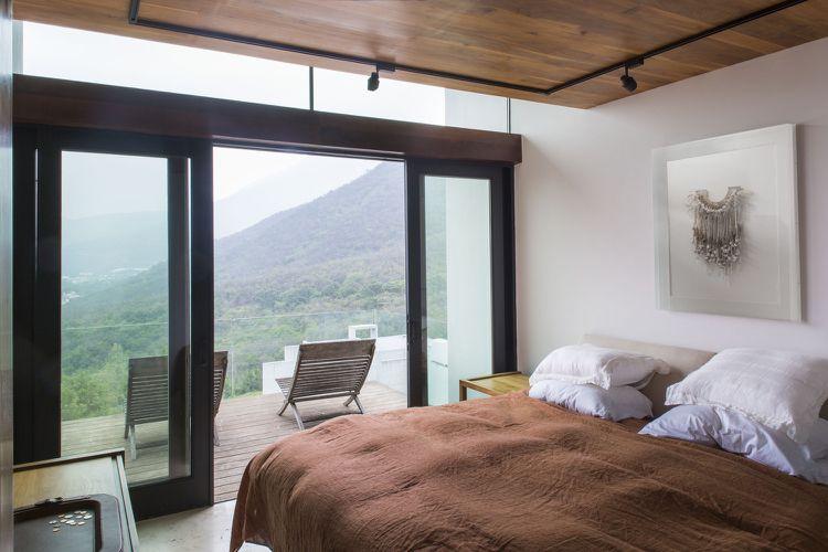 Bauhaus Stil Haus Granit Beton Holz Schlafzimmer Dream Rooms