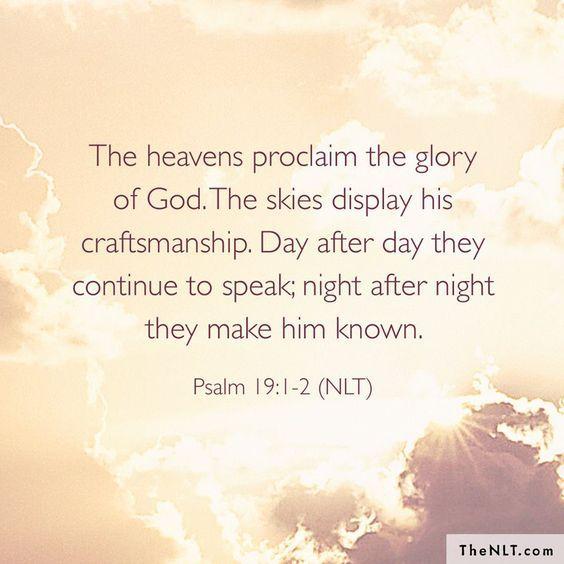 8/31/2017 Psalm 19:1 2