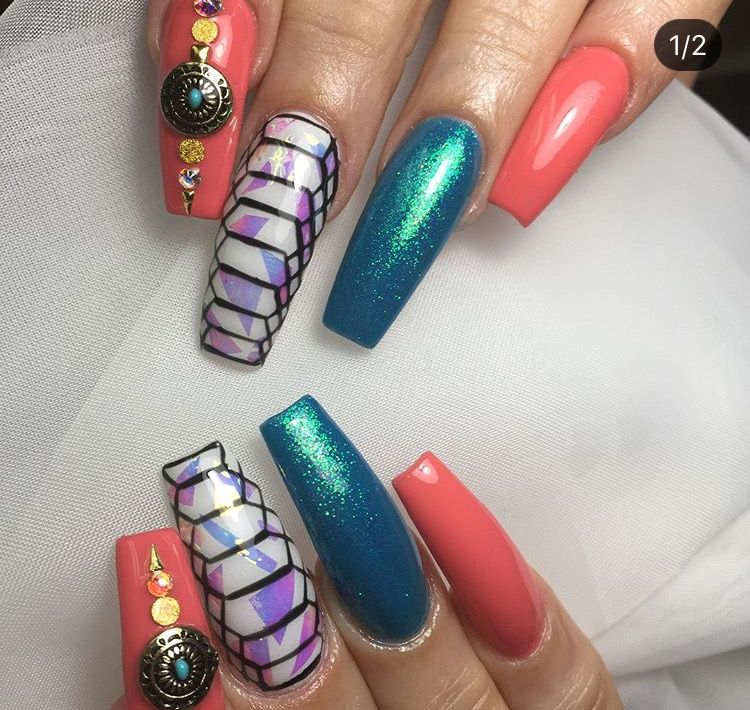Pin By Crissy C On Nals Pinterest Dope Nails Stylish