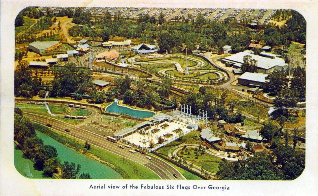 Six Flags Over Georgia Georgia History Thrill Ride Great Memories