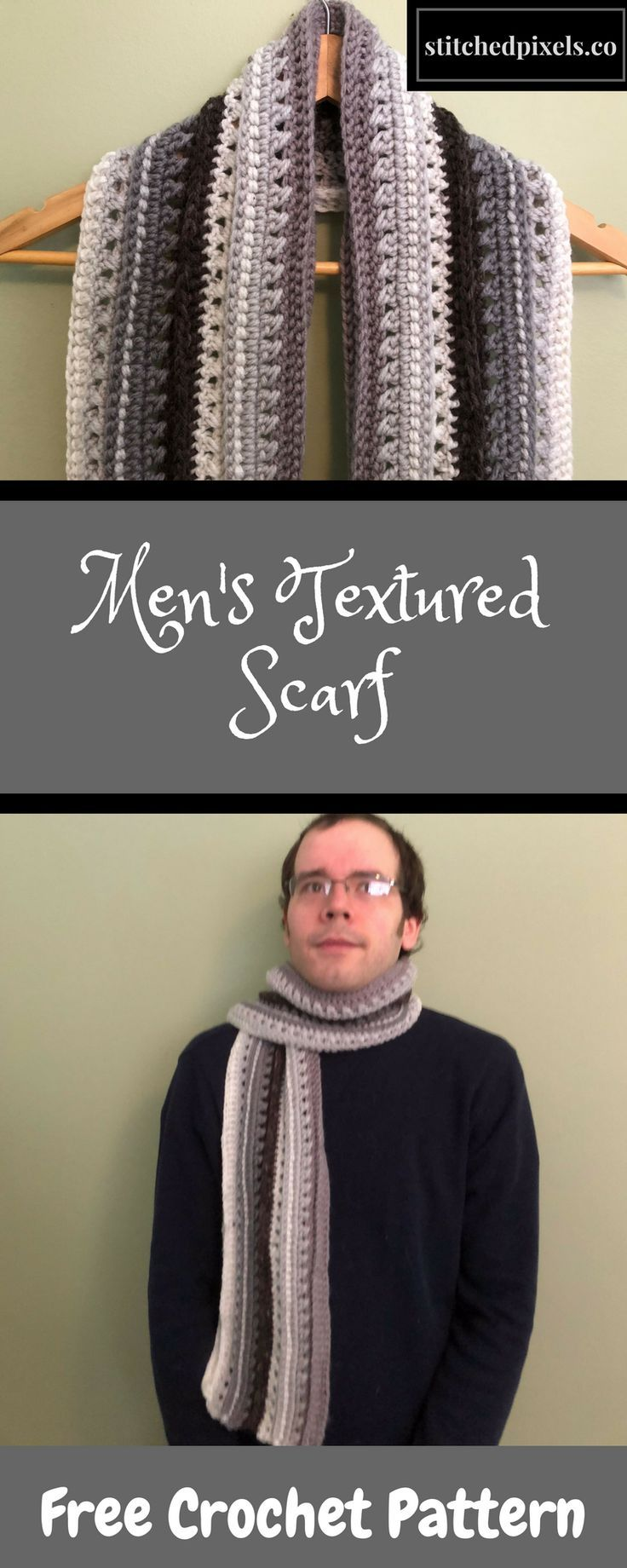 A perfect gift for a loved one is a mans scarf