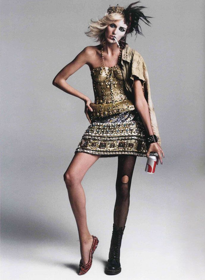 Dolce&Gabbana Fall Winter 2014, Vogue France August 2013 -