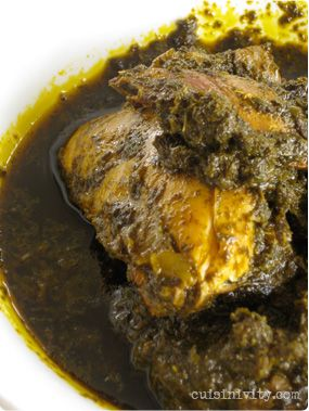 Casava leaf stew with chicken one of my favorite liberian dishes 4 casava leaf stew with chicken one of my favorite liberian dishes 4 bunches of forumfinder Gallery