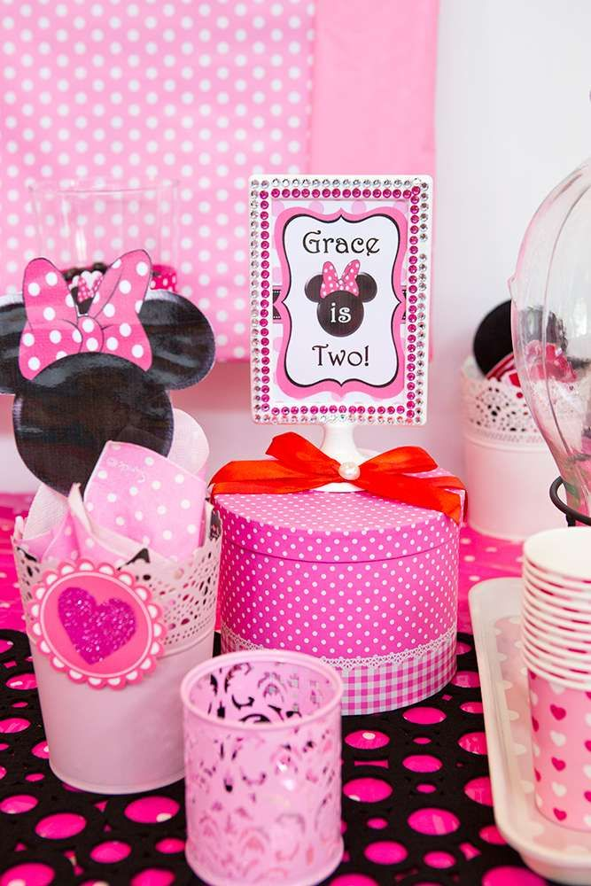 Minnie Mouse Birthday Party Decorations See More Ideas At CatchMyParty