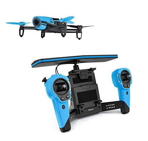 Photo of Parrot Bebop Quadcopter Drone with Sky Controller Bundle (Blue)