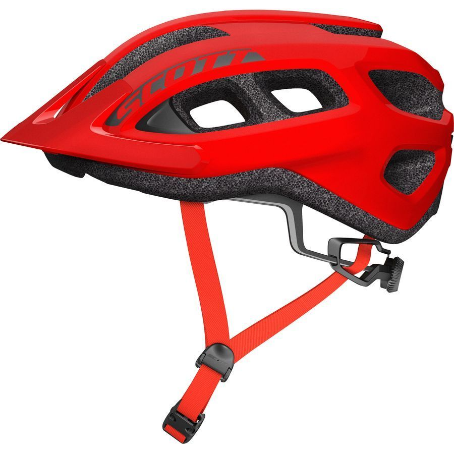 Scott Supra Helmet Red Black Apparel Cbi Bikes Mountain
