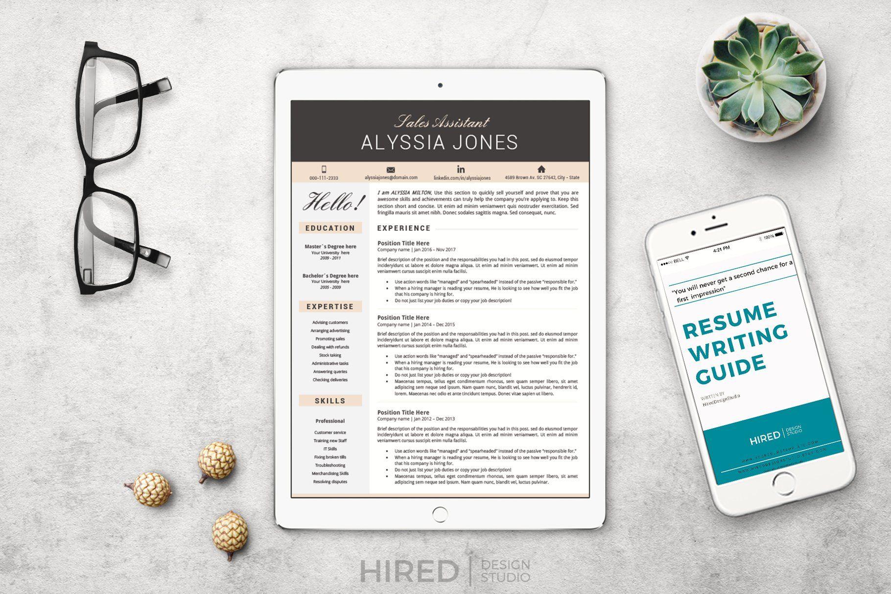 Sales assistant resume cv template nursing resume