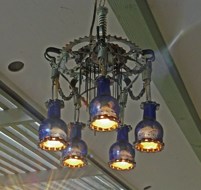 How to Build Your Own Cyclepunk Chandelier from Bike Parts and ...
