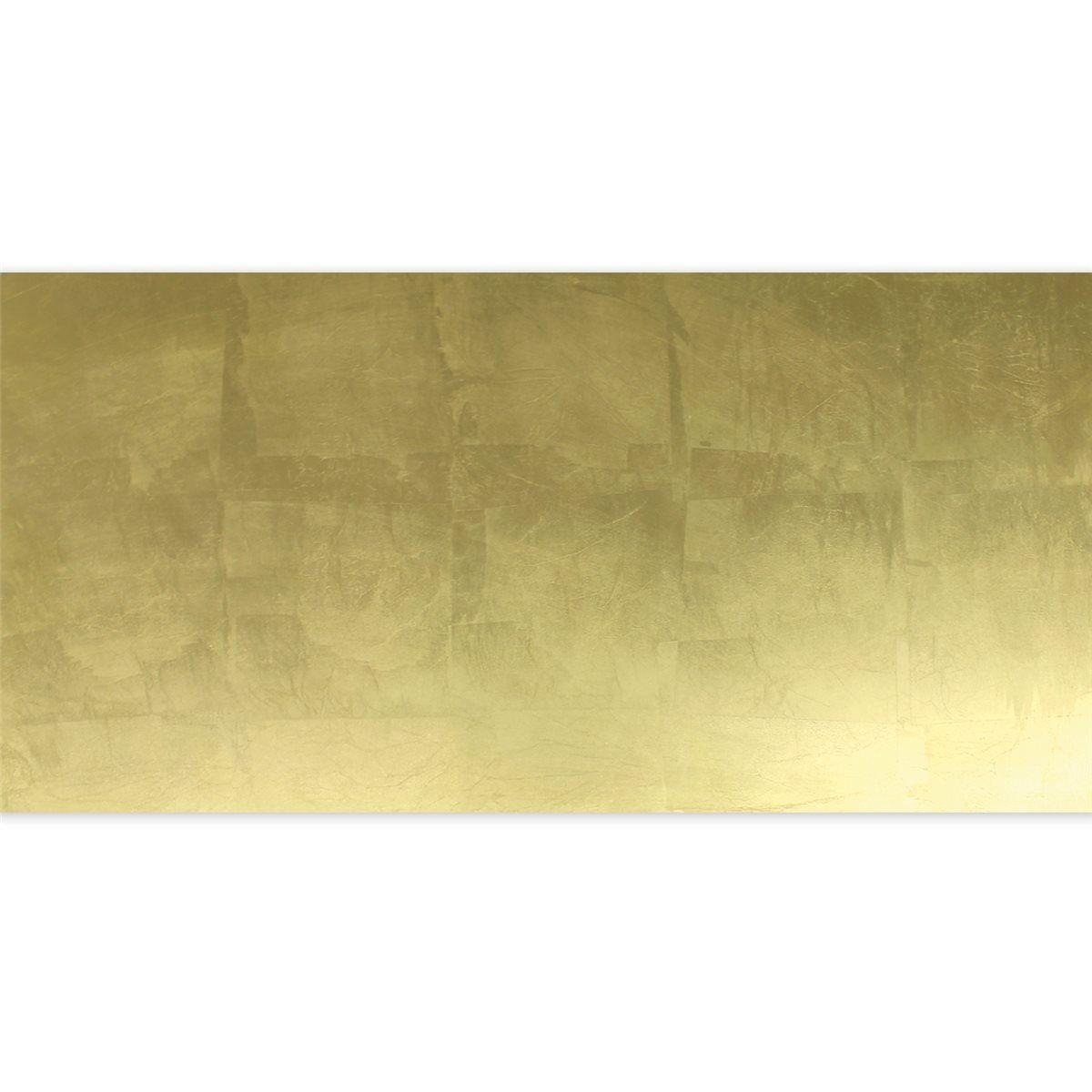 Glasfliese Dekor Gold Metall Effekt 30x60cm
