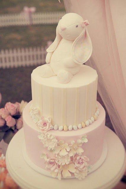 Sweet Sugar Bunny Baby Shower Cake Sugar Bunnies Of All Kinds An