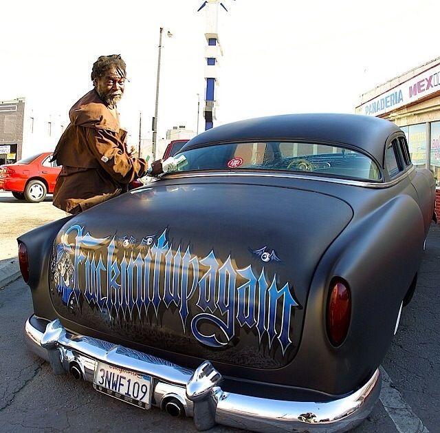 Jesse James' '54 Chevy | Lead Sled | Celebrity cars, Cars ...