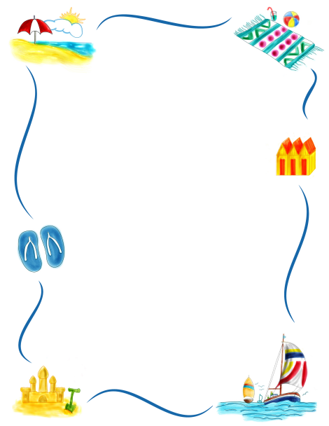 border clip art featuring beach graphics such as sandcastles beach rh pinterest com Sand Border Clip Art beach ball border clip art