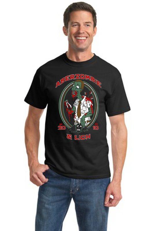 681ac1a0cf Aberzombie and Lich!   OCDmerch   Mens tops, Shirts, Cool tees