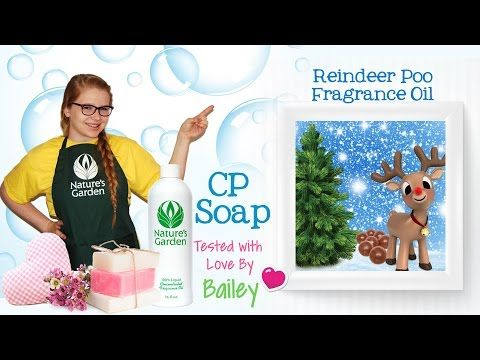 Soap Testing Reindeer Poo Fragrance Oil- Natures Garden #naturesgarden #soapmaking #cpsoap #coldprocesssoap #soapingvideos #fragranceoils #reindeerpooscent