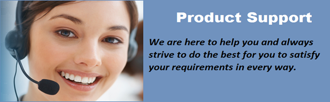 Product Support by Venture Mfg. Co.