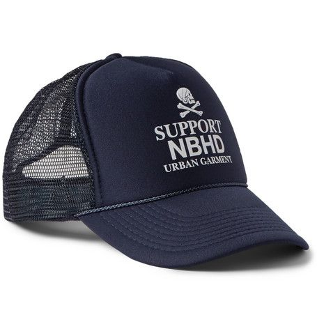 Neighborhood Printed Mesh Baseball Cap  c229405e975