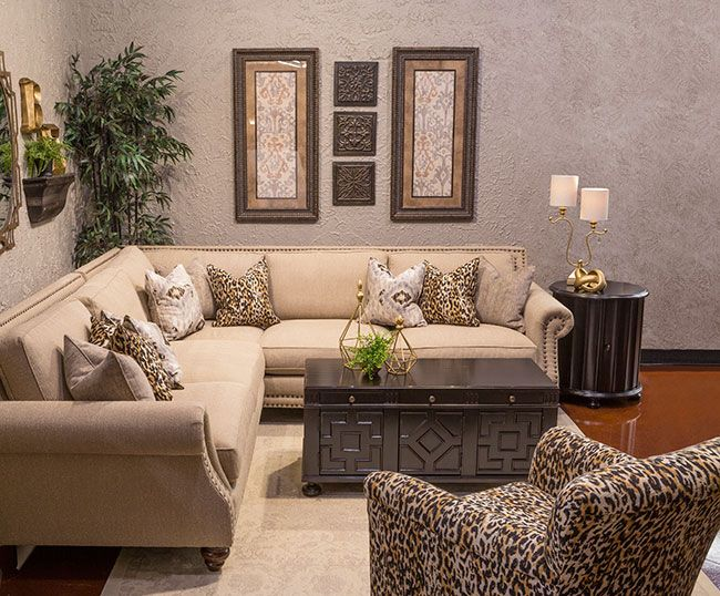 Hemispheres: A World Of Fine Furniture | Rochelle Parquet Sectional