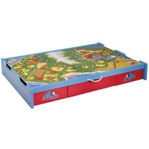 Thomas Friends Wooden Railway Under The Bed Trundle Playtable