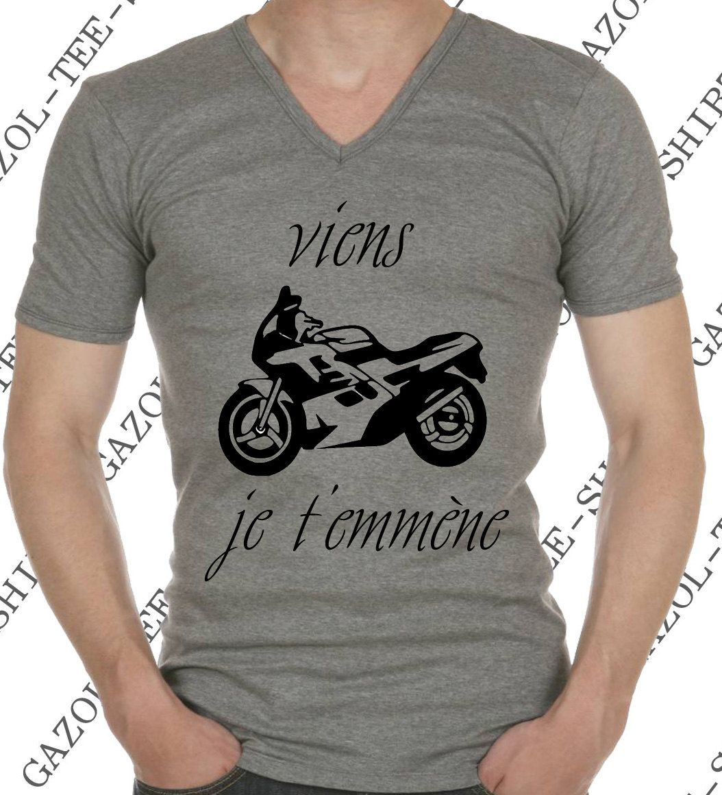 t shirt viens je t emm ne tee shirt humour id e cadeau. Black Bedroom Furniture Sets. Home Design Ideas
