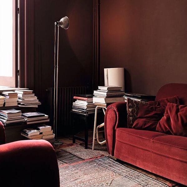 PANTONE Color Of 2015 - Marsala In Interiors