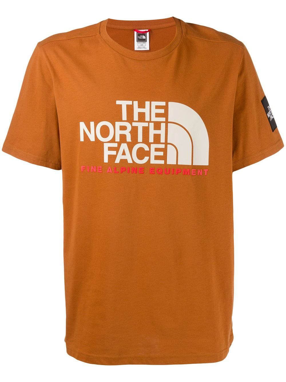North Face Short Sleeve Fine T Shirt