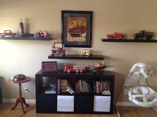 My baby's nursery. Vintage Trucks. Little boys rooms