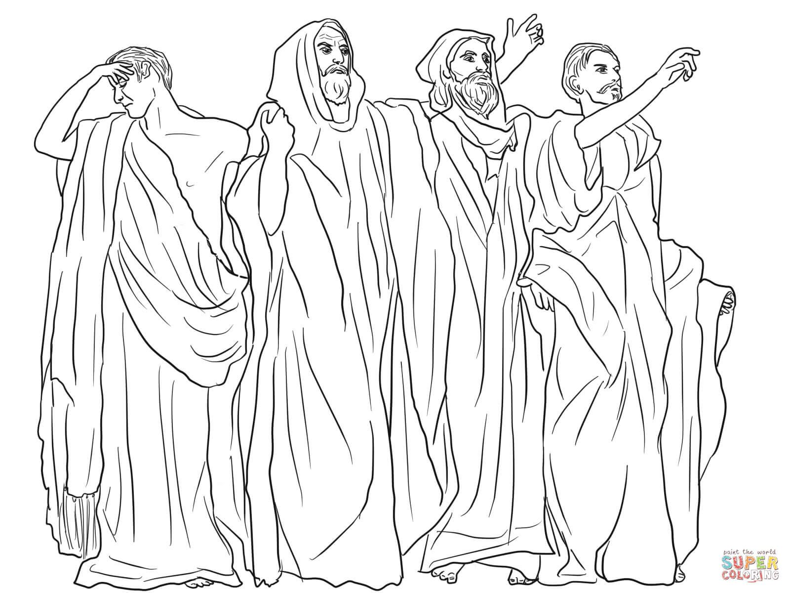 Haggai And Zechariah Prophets Coloring Pages Coloring Pages