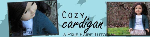FREE TUTORIAL for Cozy Cardigan