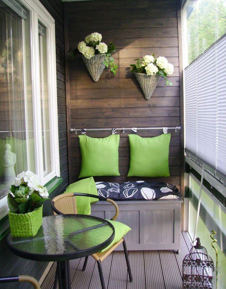 Arredamento per balconi semplici idee per piccoli spazi for Giardini da arredare