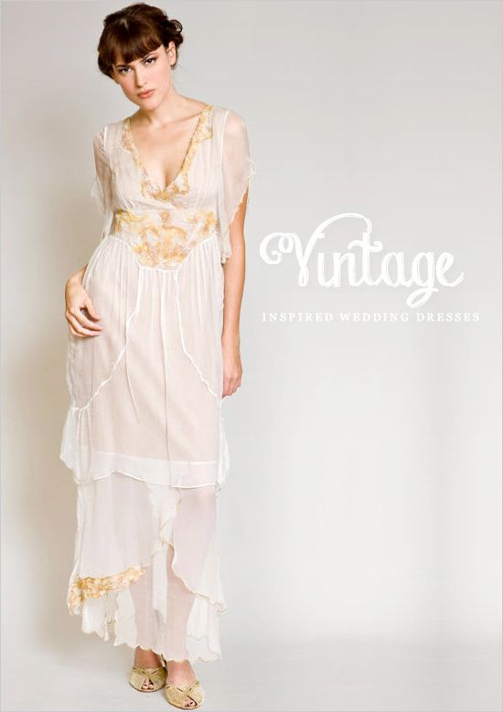 Vintage Inspired Wedding Dresses By The Wardrobe Shop | Vintage ...