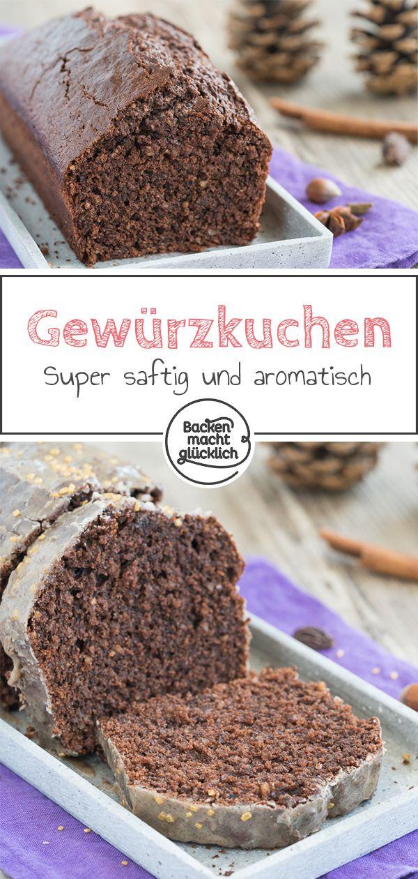 Saftiger Gewürzkuchen mit Schokolade | Backen macht glücklich #spekulatiuskuchen