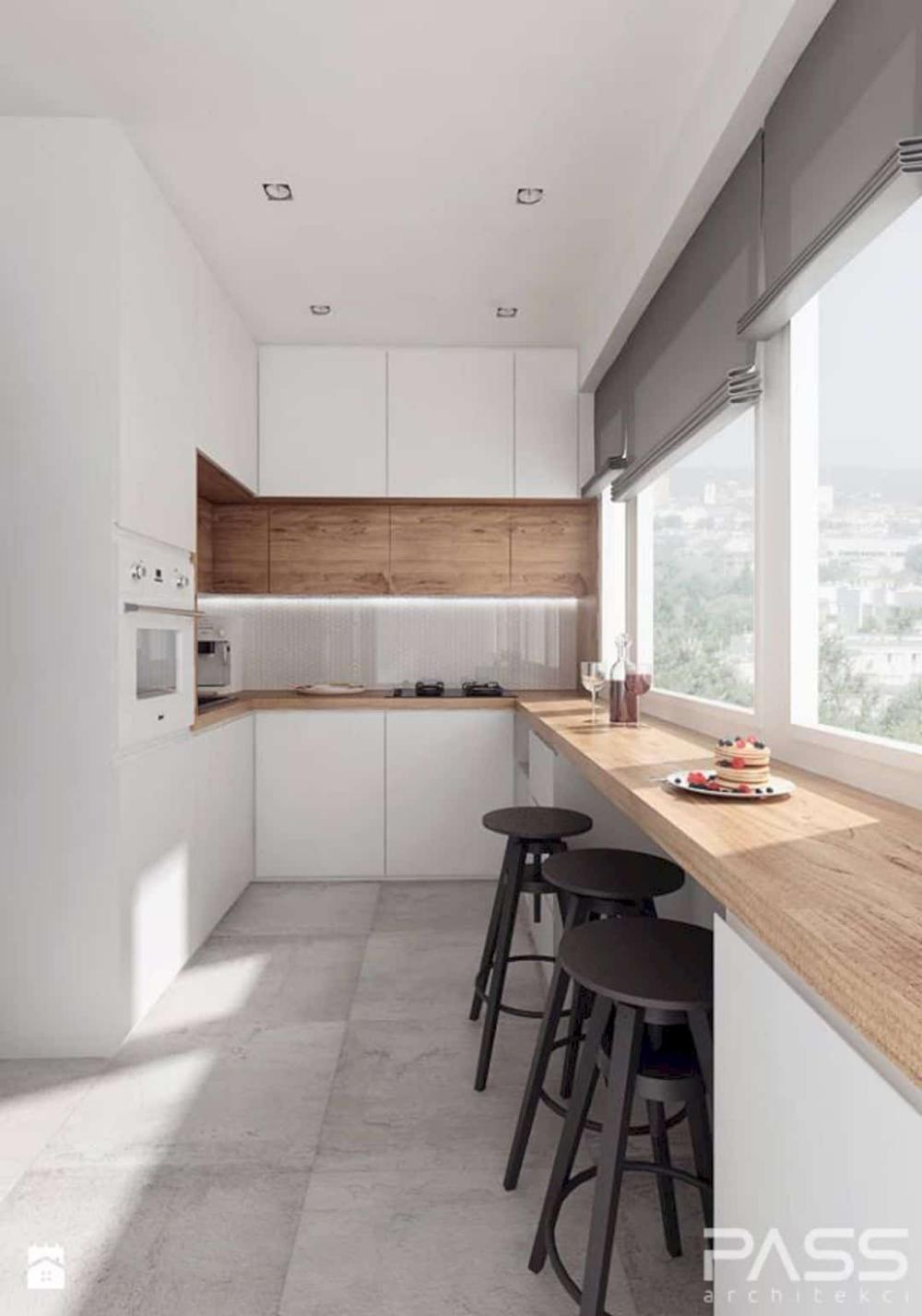 A Guide To Efficient Small Kitchen Design For Apartment Modern Kitchen Design Scandinavian Kitchen Design Interior Design Kitchen