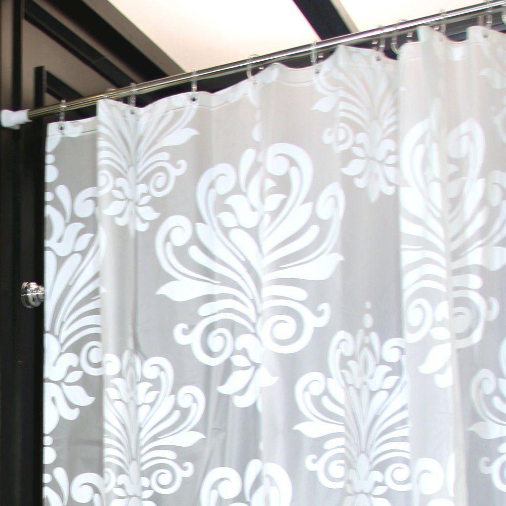 Amazon Com Lynnwang Design 72x72 Inch Pvc Free Shower Curtain Or