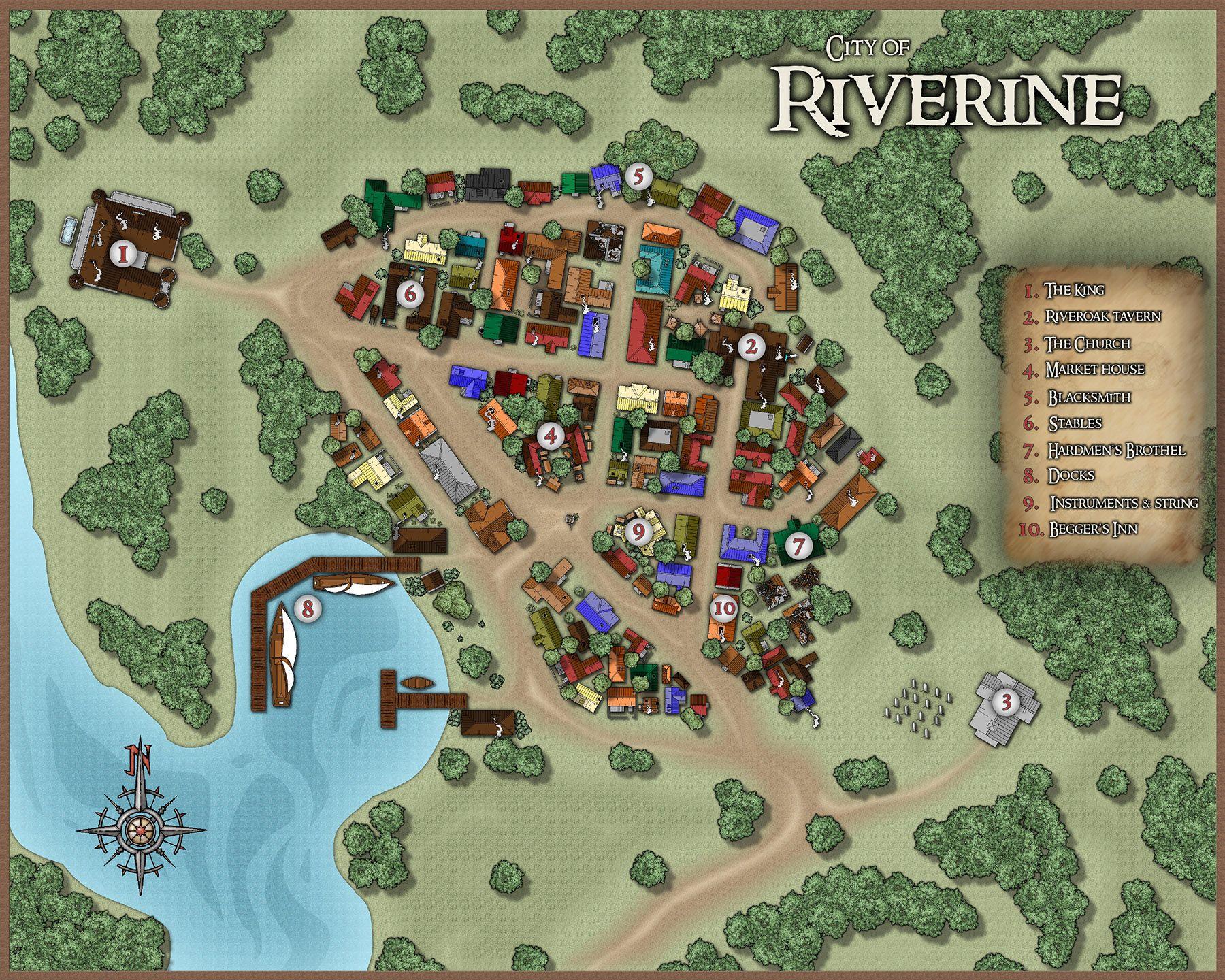 Riverine Finished Jpg Cartographie Jdr