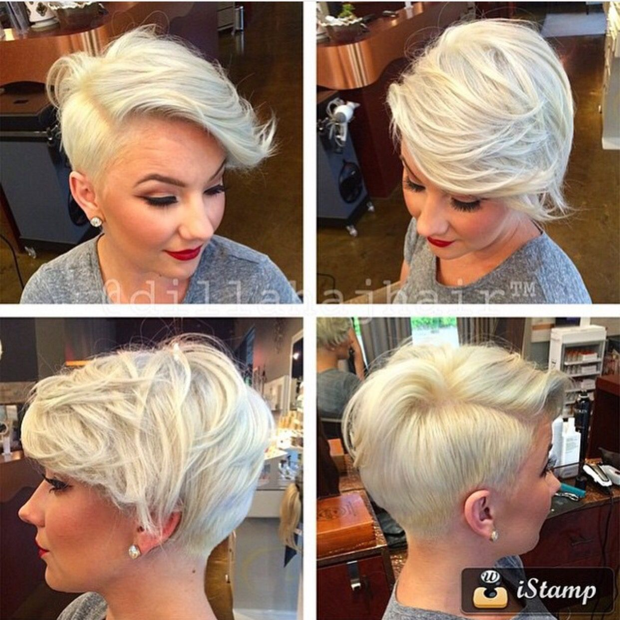 Lovr this cut hair and nails pinterest short hair pixies and