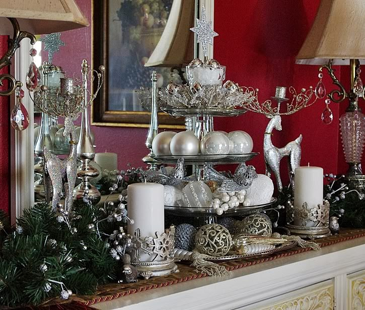 Decorating Dining Rooms For Christmas My Buffet And