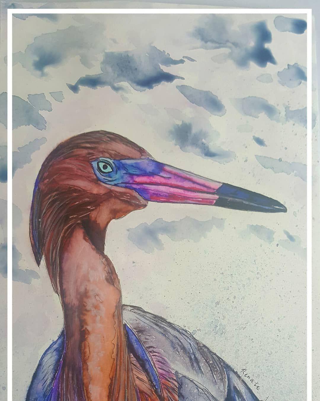 Tolles Aquarell Mit Unseren Brush Pens Gemalt Pinselstifte