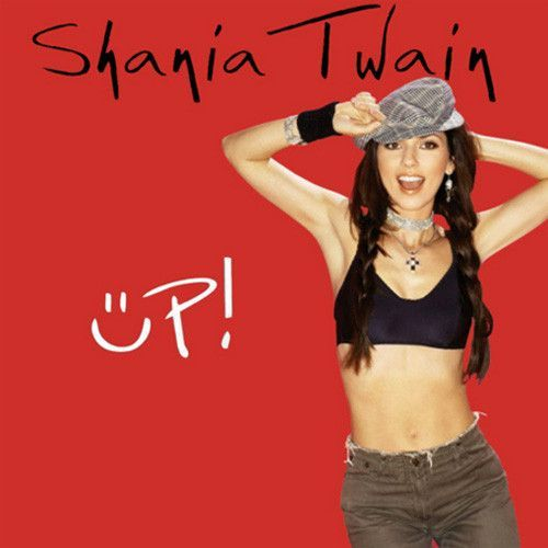 Shania Twain Up Red Version 2lp Lp Singers And Idol