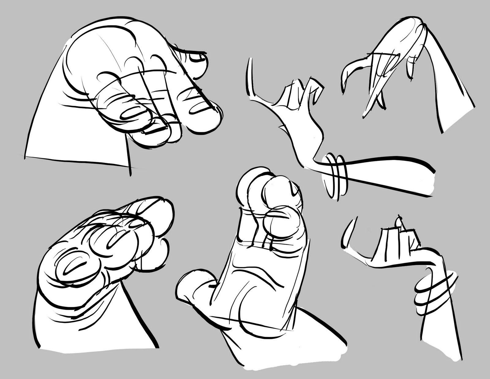 Dibujando manos variadas  Hands  Pinterest  Dibujar Anatoma y