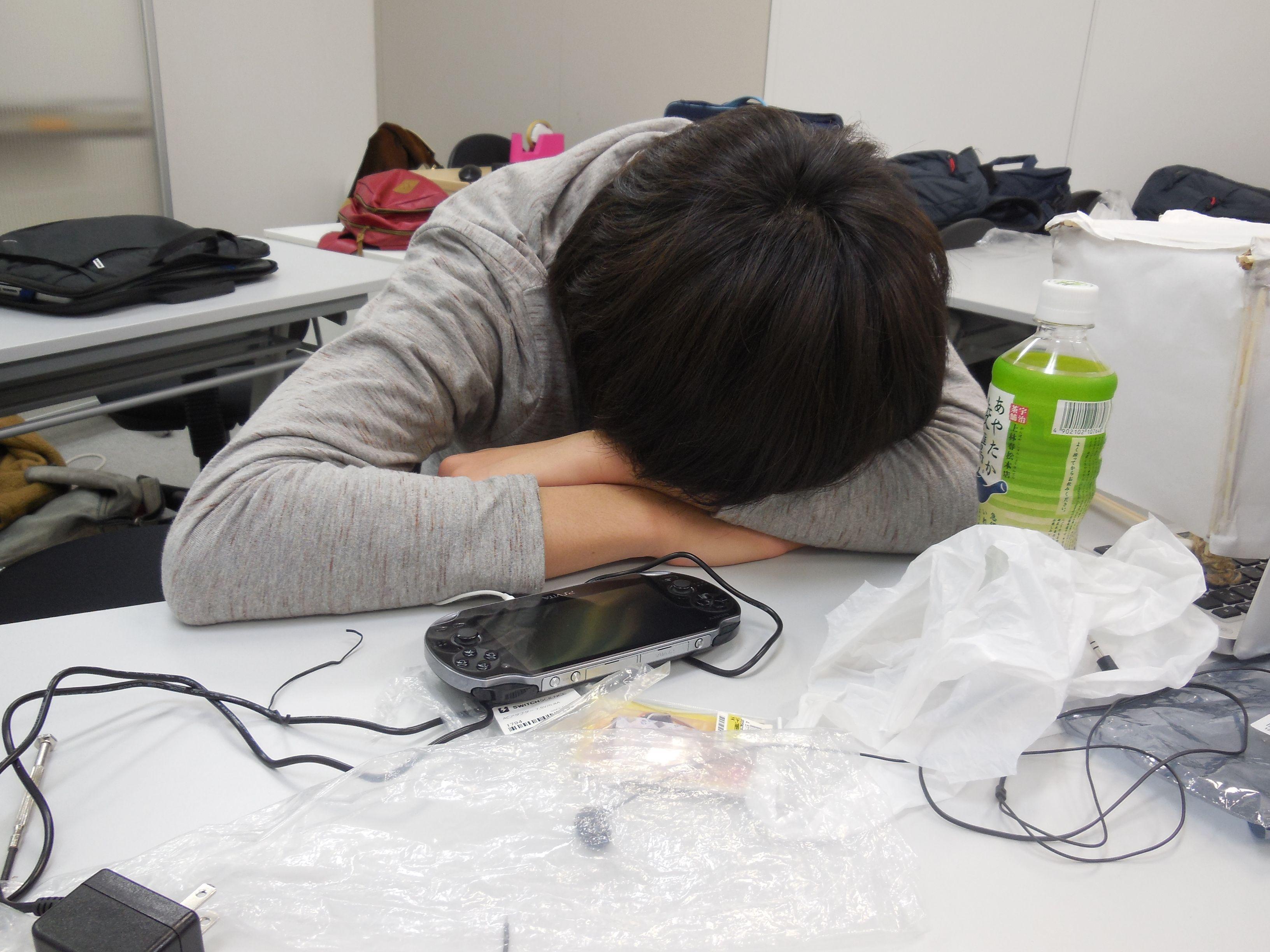 疲れちゃった…?