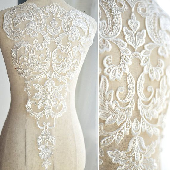 Beautiful Venice Lace Applique In Soft White For Wedding Etsy Wedding Dress Accessories Applique Wedding Dress Wedding Dress Fabrics