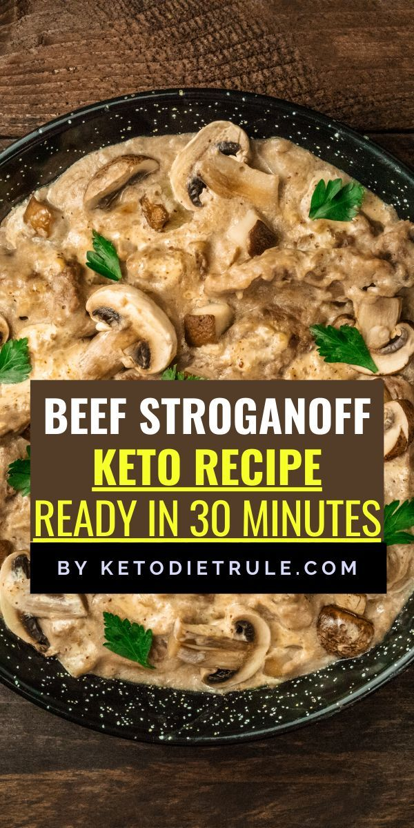 Beef Stroganoff Recipe With Sour Cream Gluten Free Keto Diet Rule Recipe In 2020 Keto Beef Recipes Keto Recipes Dinner Stroganoff Recipe