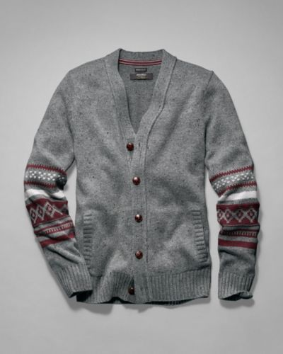 Men's Deer Valley Fair Isle Cardigan Sweater | Eddie Bauer | Guy ...