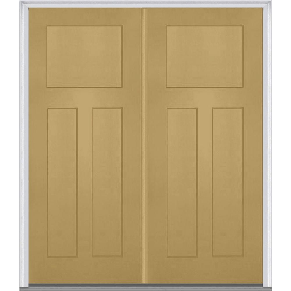 Mmi Door 72 In X 80 In Classic Left Hand Inswing Craftsman 3