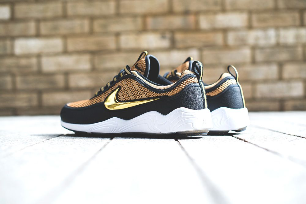 NikeLab Air Zoom Spiridon 'Metallic Gold/Black' | Metallic gold, Metallic  and Gold