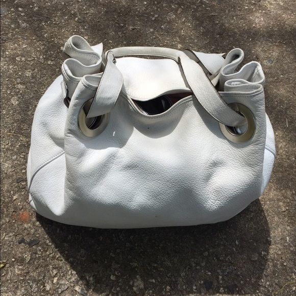 Ing This White Supple Leather Arbo Bag In My Poshmark Closet Username Is